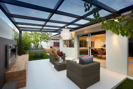 pergola roof ideas exterior contemporary with french doors board