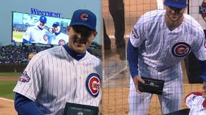 rizzo bryant get their rings cubs