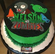Plants Vs Zombies Cake Decorations Plants Vs Zombies Cake Kid Stuff Pinterest Plants Vs