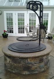 Stone Fire Pit Kit by Fire Pits New England Silica Inc