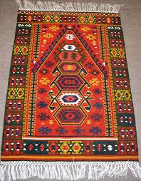 Kilim Rug Oushak Silk Kilim Rug Code 3983