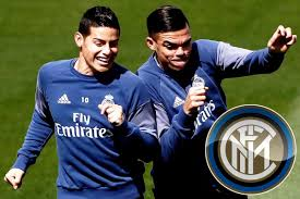 inter milan set to move for james rodriguez and pepe in double inter milan set to move for james rodriguez and pepe in double raid on real madrid
