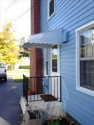 Door Awnings Aluminum Small Green Aluminum Door Awning Aluminumawning Yearround Www