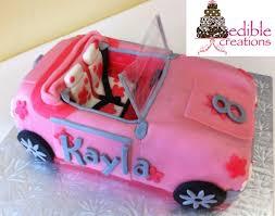 10 barbie theme images car cakes barbie cars