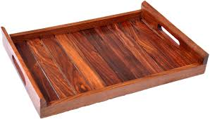 wooden serving tray indian rosewood sheesham handmade indian rosewood sheesham wood handmade handcrafted wooden
