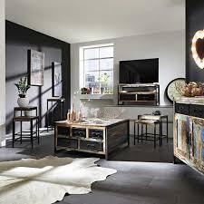 Schreibtisch Design Schreibtisch Ensley Im Shabby Chic Design Bunt Schwarz