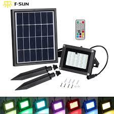 Outdoor Solar Panel Lights - t sunrise solar light 10w 20 leds outdoor lighting waterproof ip65