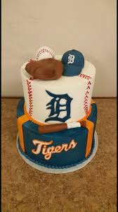 19 best detroit tiger u0027s cakes images on pinterest detroit tigers