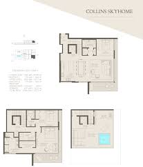 floor plans 8800 collins avenue
