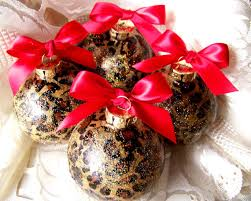 cheetah ornaments decore