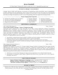 construction project manager resume examples project manager