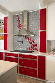 Red Backsplash Kitchen 7 Best Kitchen Backsplash Images On Pinterest Backsplash Ideas