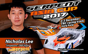 nicholas lee confirmed at 2017 serpent asia cup rcnews net rc