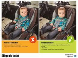 comment attacher siège auto bébé l abc des sièges d auto pour enfant ssq