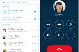 skype android app microsoft begins beta of skype for business apps for ios