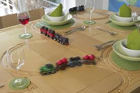 trains for train table the dining table that doubles up as a train track does that mean
