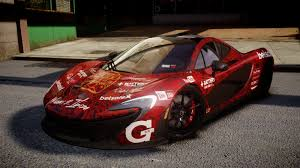mclaren p1 custom paint job gta gaming archive