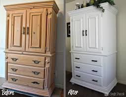 Painted Armoire Furniture