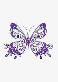 purple butterfly pattern purple pattern butterfly png image and