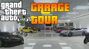 Cool Garages by Gta V Garage Tour Cool Cars And Cool Paint Jobs May 2015