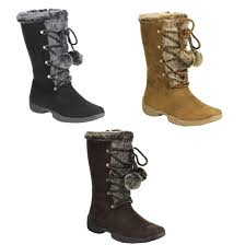 s boots with laces forever ib93 s pom pom lace up boots ebay
