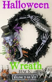 halloween wreath halloween wreath hack home made interest