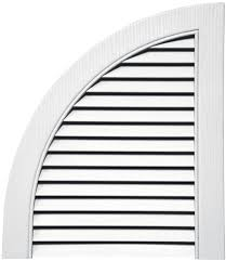 Decorative Gable Vents Home Depot by Quarter Round Open Louver Arch Tops