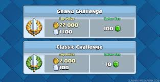 how to get easier opponents in clash royale challenge mode clash