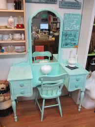 Turquoise Vanity Table Items Similar To Circa 20 U0027s Antique Turquoise Vanity U0026 Chair