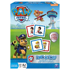 amazon com paw patrol look a likes matching board game toys u0026 games