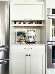 gap between fridge and cabinets kitchen coffee station cabinet advertisingspace info