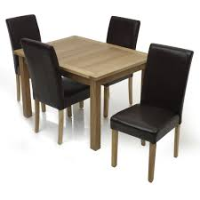 chair winning chair home dining set table 4 throughout chairs and