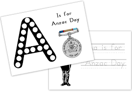 free printable anzac unit for young learners