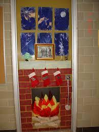 christmas door decorating ideas dorm the unique ideas of