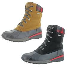 womens work boots canada canada totem s duck toe waterproof boots ebay