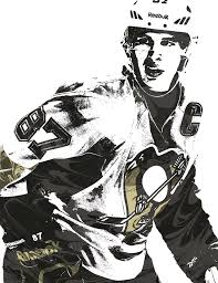 sidney crosby birthday card sidney crosby pittsburgh penguins pixel mixed media by joe