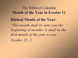 biblical calendar the biblical calendar and s crucifixion part ppt