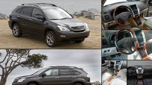 lexus rx all years and modifications with reviews msrp ratings
