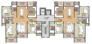 fourplex house plans emejing 4 unit apartment building plans gallery home design