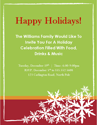 christmas party invitations free templates 17 holiday party template images christmas holiday party