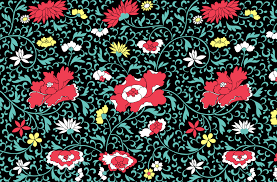 vintage floral wallpaper background free stock photo public