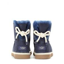 womens ugg selene mini boot ugg selene suede boots in blue lyst