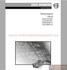 volvo truck fm4 wiring diagram auto repair manual forum heavy