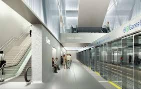 metro bureau rennes rennes metro station in rennes by atelier zündel