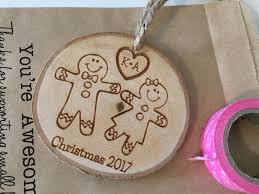 gingerbread ornaments couples ornament wedding ornament