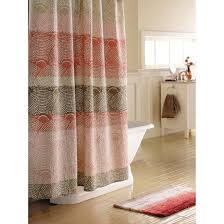 Threshold Ombre Shower Curtain Threshold Scallop Dot Shower Curtain Shower Curtains Galore