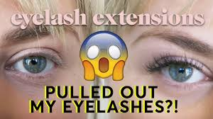 Do Eyelash Extensions Ruin Your Natural Eyelashes The Truth About Eyelash Extensions Youtube