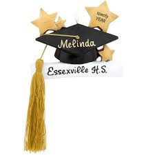 graduation tassel ornament personalized graduation cap with and tassel ornament