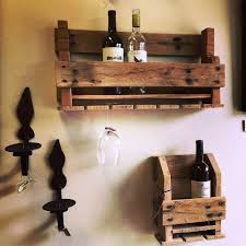 creative and simple but cool homemade wood wine rack made from