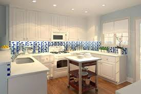 Glass Kitchen Tiles For Backsplash by Blue Kitchen Backsplash U2013 Fitbooster Me